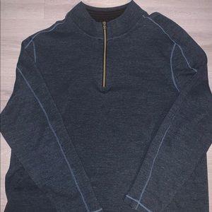Robert Graham 1/4 Zip Up Sweater